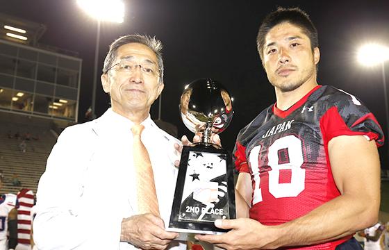 日本代表がアメリカ代表に完敗 銀メダル獲得で大会終了