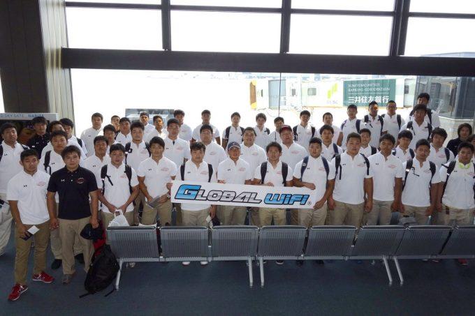 カレッジ日本代表、メキシコに向け出発