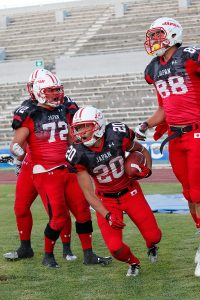 2nd FISU World University American Football Championship. U.S.A. vs JAPAN