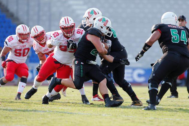 『アメリカンフットボール 大学世界選手権 2016』 -メキシコ代表に3対36で敗戦-
