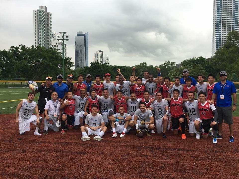 IFAFフラッグフットボール世界選手権、男子は初日を2敗で終える。