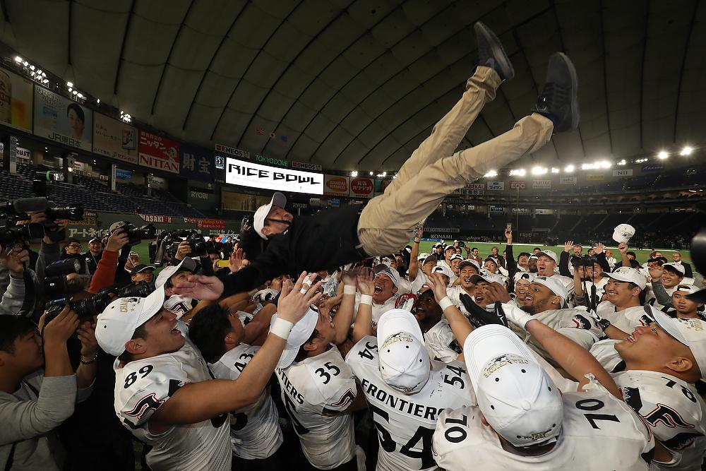 プルデンシャル生命杯第72回ライスボウル:富士通52―17関学大